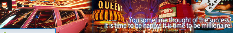 THE VERY BEST INTERNET CASINO IN THE GAMBLE WORLD! It is time to be millionaire!!!